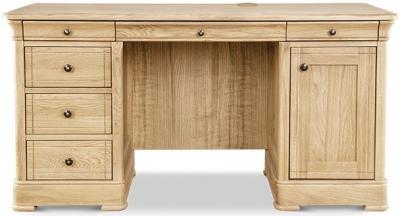 Clemence Richard Moreno Oak Desk