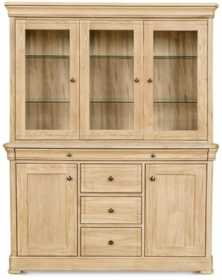 Clemence Richard Moreno Oak Display Cabinet