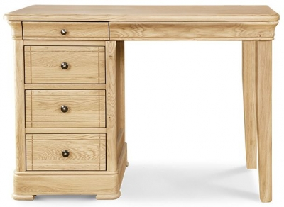Clemence Richard Moreno Oak Dressing Table - 3 Drawer