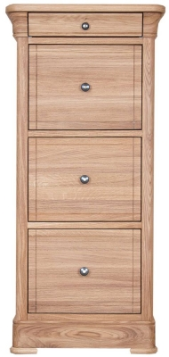 Clemence Richard Moreno Oak 3 Drawer Filing Cabinet