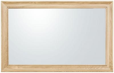 Clemence Richard Moreno Oak Rectangular Mirror - 80cm x 100cm