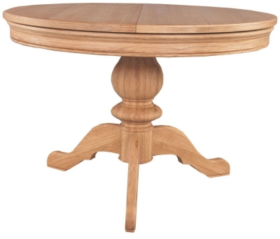 Clemence Richard Moreno Oak Single Pedestal Table