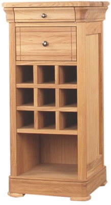 Clemence Richard Moreno Oak Small Wine Rack