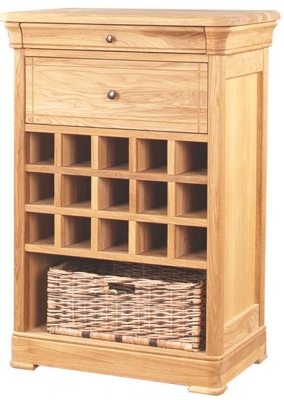 Clemence Richard Moreno Oak Wine Rack