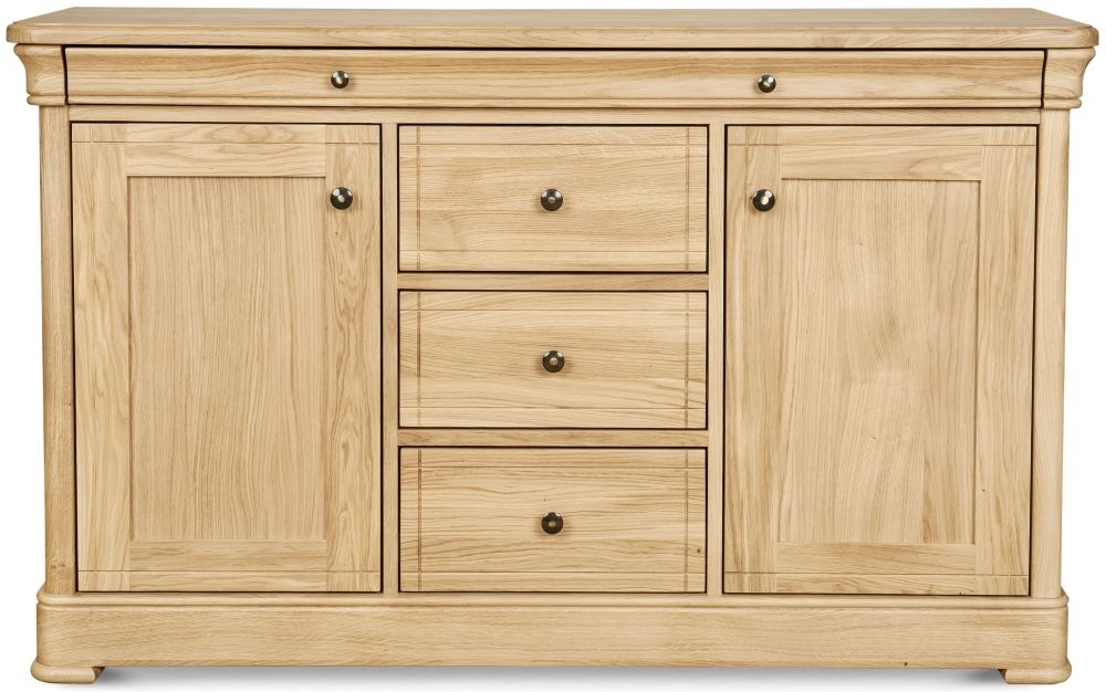 Clemence Richard Moreno Oak 2 Door 4 Drawer Wide Sideboard