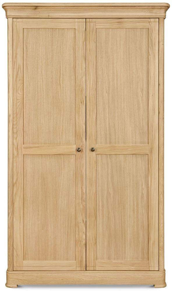 Clemence Richard Moreno Oak 2 Door Wardrobe