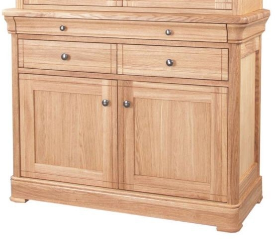 Clemence Richard Moreno Oak 2 Door Sideboard