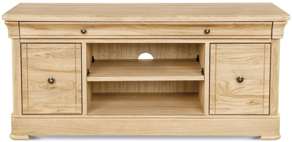 Clemence Richard Moreno Oak Medium TV Unit