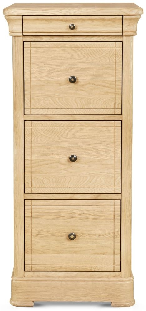 Clemence Richard Moreno Oak Tall Filing Cabinet