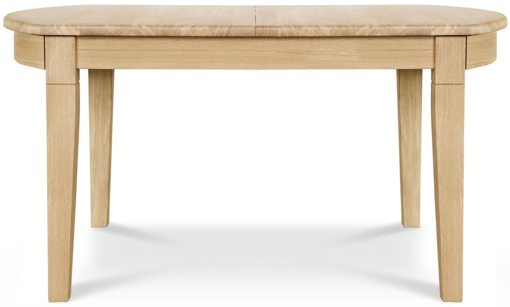 Clemence Richard Moreno Oak D End Dining Table