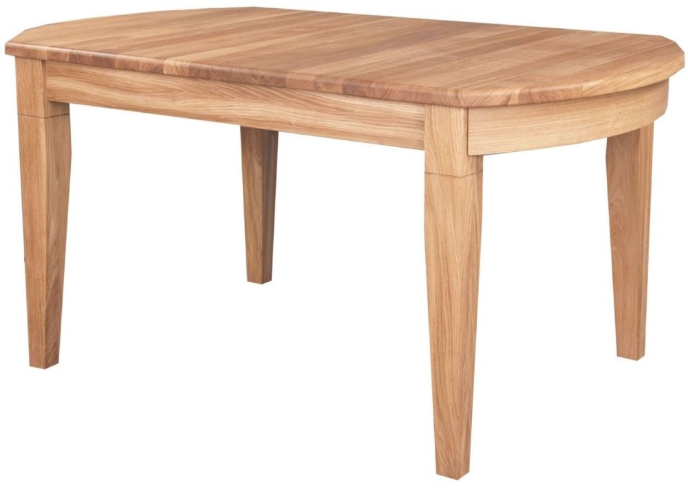 Clemence Richard Moreno Oak D End Large Dining Table