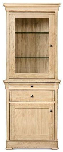 Clemence Richard Moreno Oak 2 Door 1 Drawer Dresser