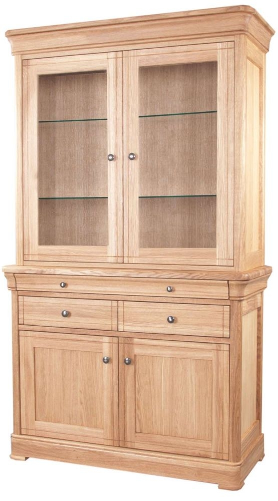 Clemence Richard Moreno Oak 4 Door 3 Drawer Dresser