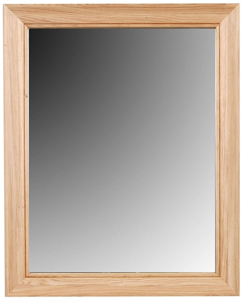 Clemence Richard Moreno Oak Rectangular Mirror Type 518A