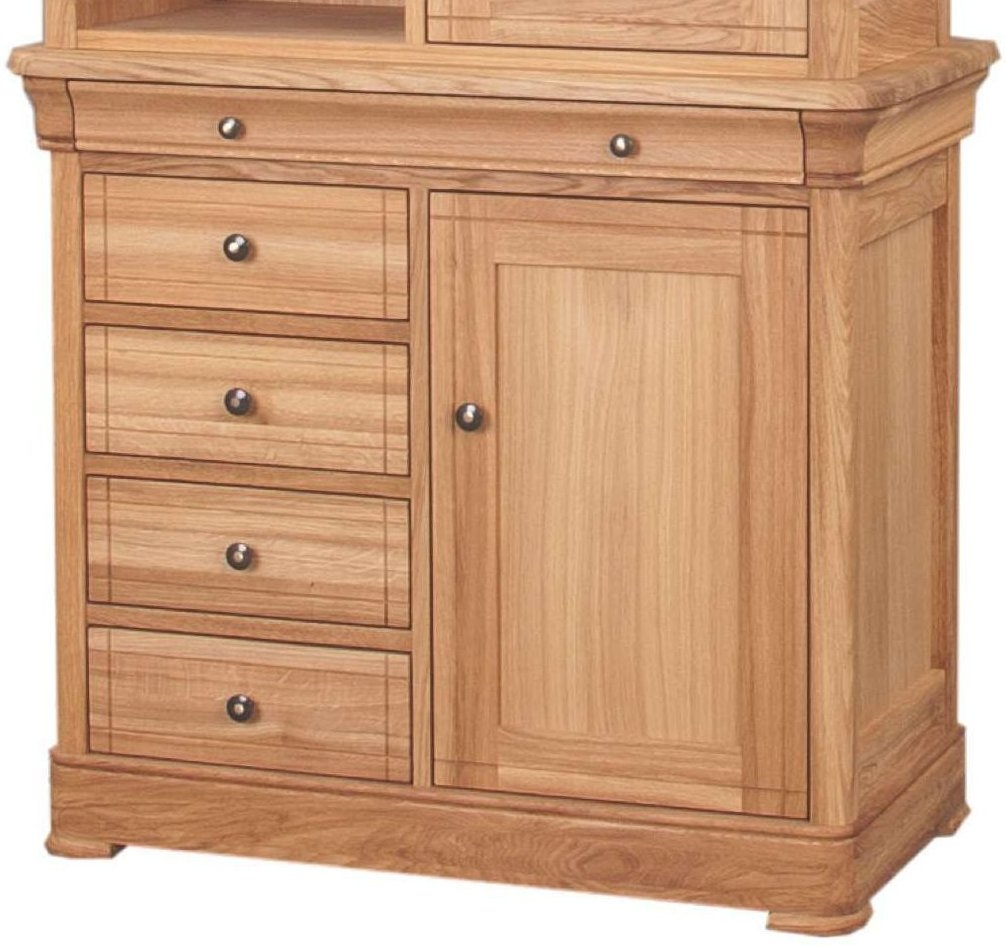 Clemence Richard Moreno Oak Sideboard