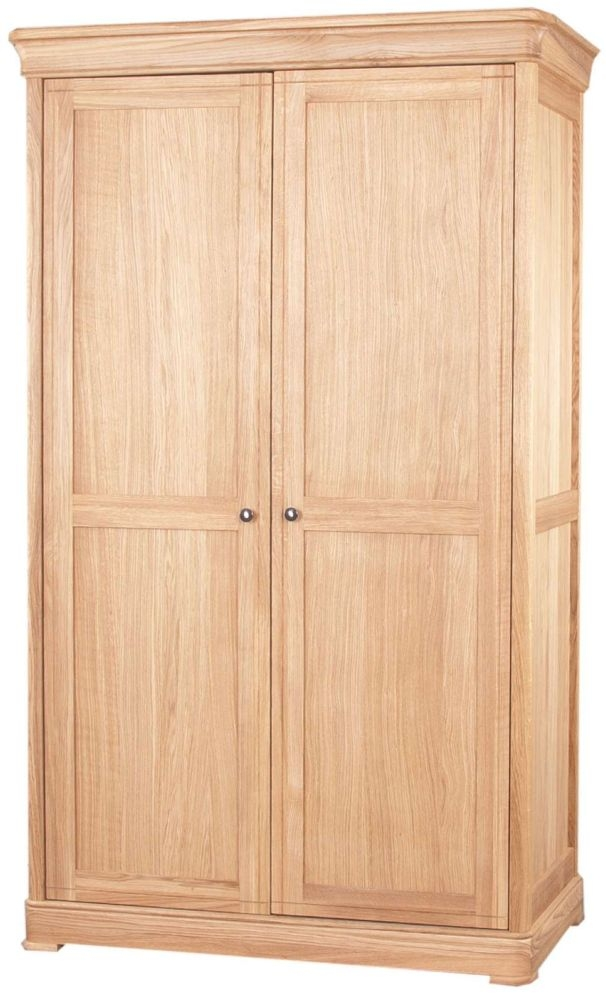 Clemence Richard Moreno Oak Double Wardrobe
