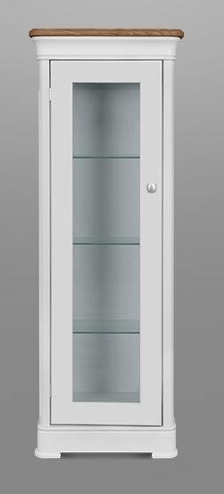 Clemence Richard Moreno Painted 1 Door Display Cabinet Type 618B