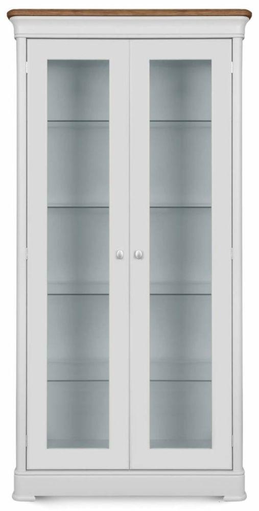 Clemence Richard Moreno Painted 2 Glass Door Display Cabinet 625B