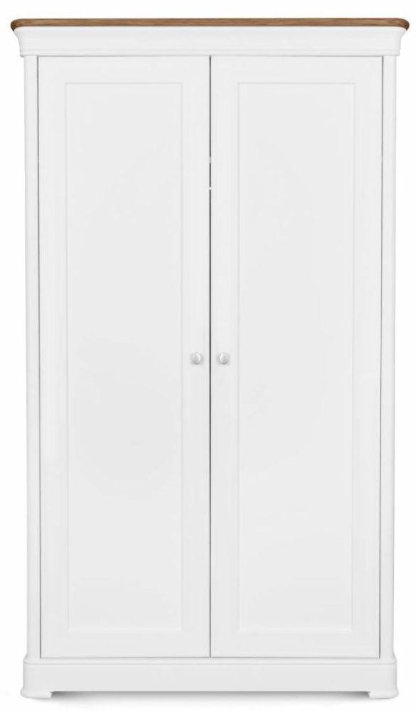 Clemence Richard Moreno Painted 2 Door Double Wardrobe