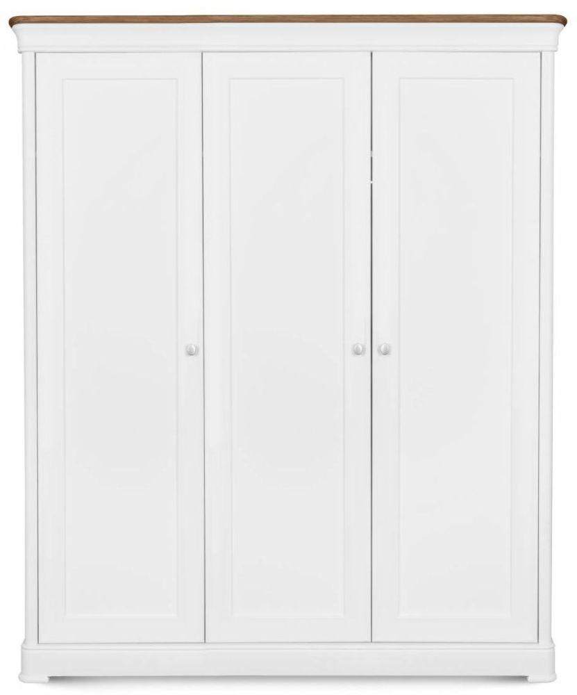 Clemence Richard Moreno Painted Triple Wardrobe