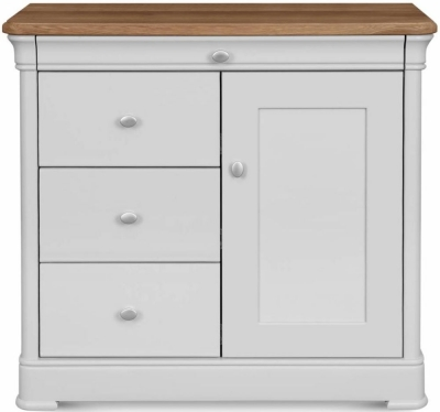 Clemence Richard Moreno Painted 1 Door Combi Sideboard