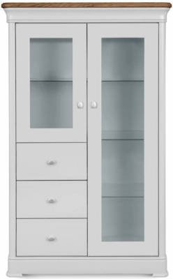 Clemence Richard Moreno Painted 2 Door Combi Display Cabinet