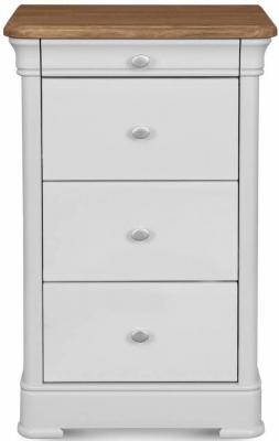 Clemence Richard Moreno Painted 4 Drawer Narrow Chest