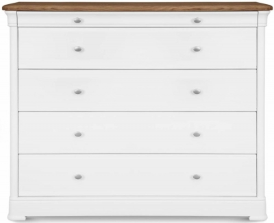 Clemence Richard Moreno Painted 5 Drawer Wide Chest