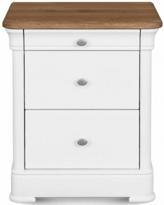 Clemence Richard Moreno Painted Bedside Cabinet