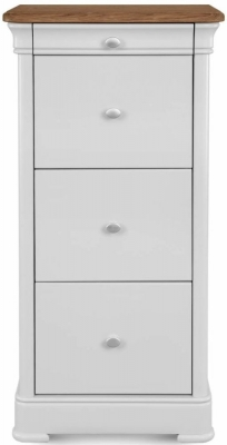 Clemence Richard Moreno Painted Tall Filing Cabinet