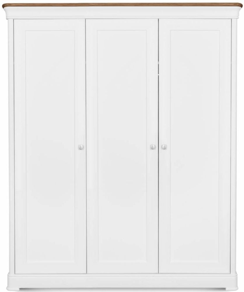 Clemence Richard Moreno Painted 3 Door Wardrobe