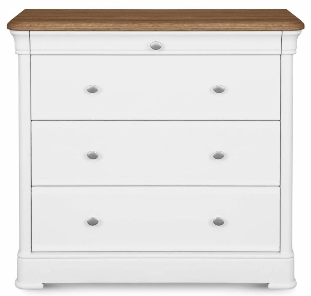 Clemence Richard Moreno Painted 4 Chest of Drawer