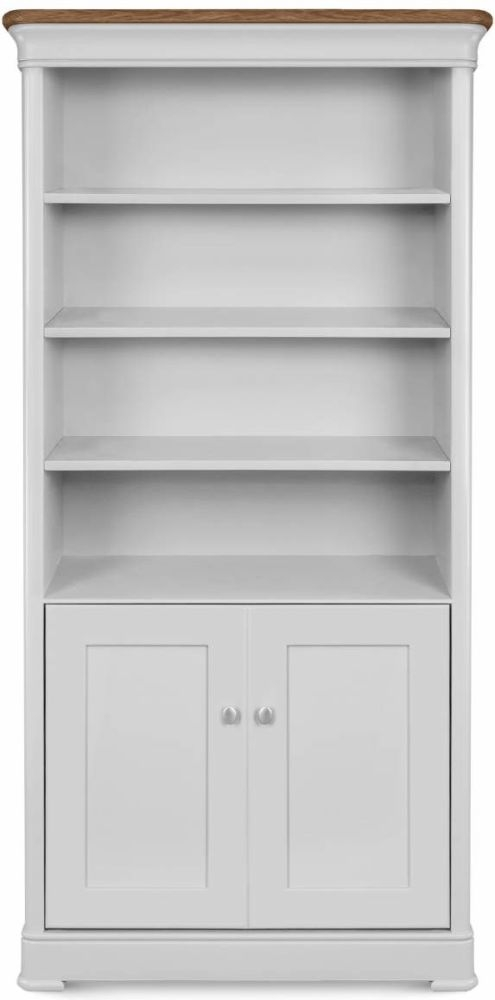 Clemence Richard Moreno Painted Large Bookcase