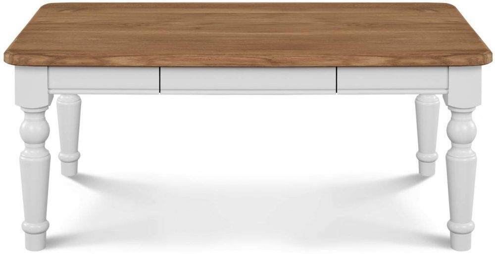 Clemence Richard Moreno Painted Large Coffee Table with Curved Legs