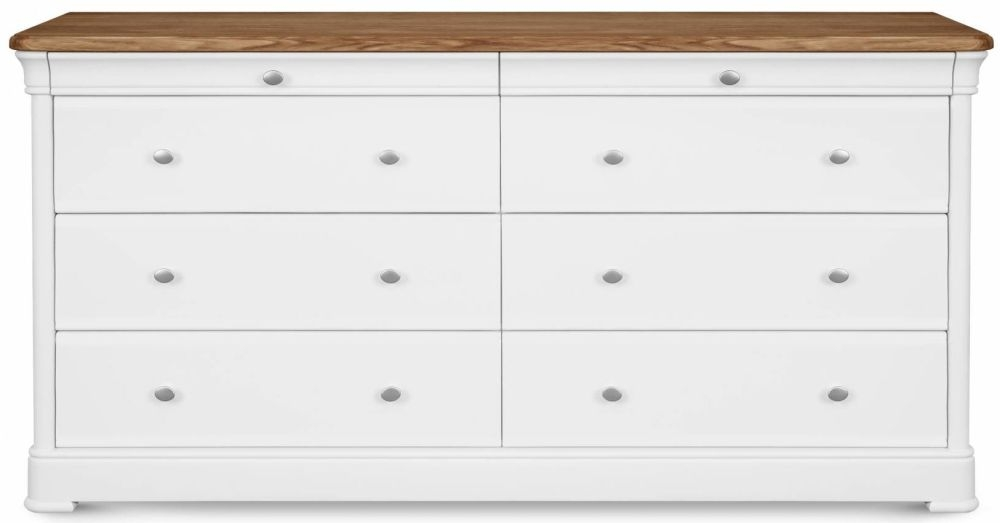 Clemence Richard Moreno Painted Wide 8 Chest of Drawer