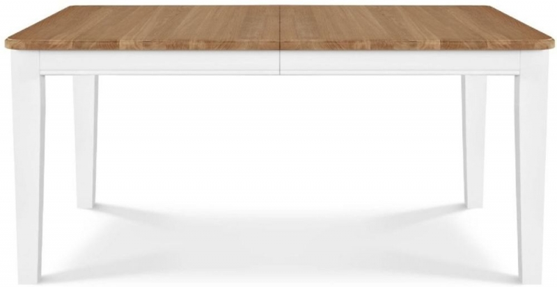 Clemence Richard Moreno Painted Medium Extending Dining Table with Straight Legs
