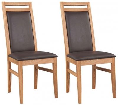 Clemence Richard Oak Dining Chair (Pair)