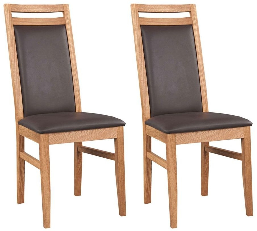 Clemence Richard Oak Dining Chair (Pair)