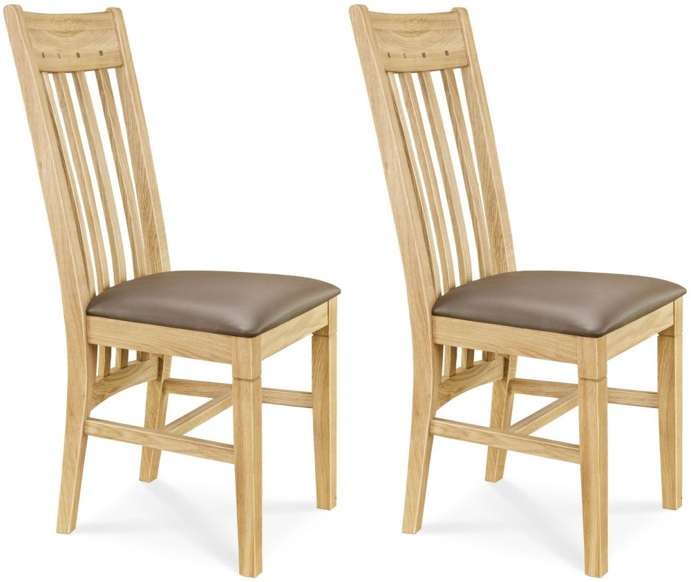 Buy Dining Chairs By Ryc Furniture Online: Buy Clemence Richard Oak Leather Seat And Walnut Dining