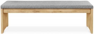 Clemence Richard Palermo Oak Bench