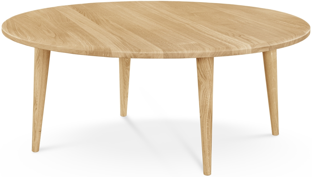 Clemence Richard Palermo Oak Round Coffee Table