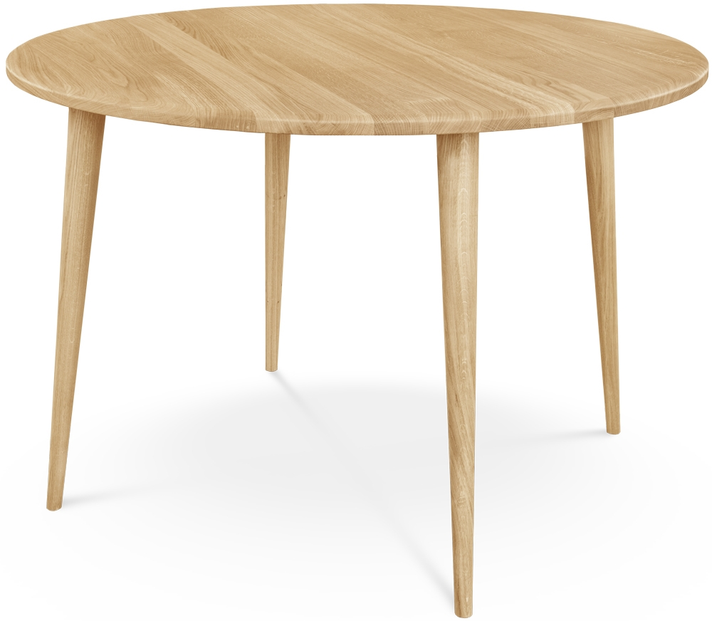 Clemence Richard Palermo Oak Round Dining Table - 110cm 710