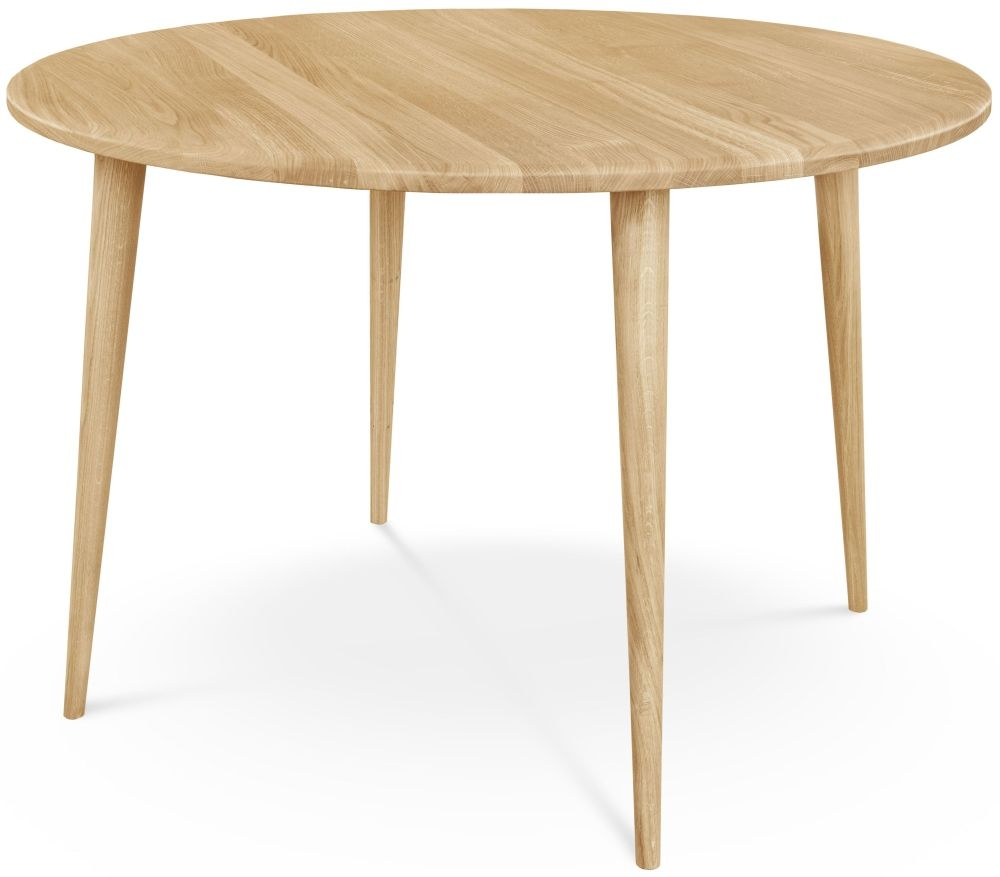 Clemence Richard Palermo Oak Round Dining Table - 110cm 710