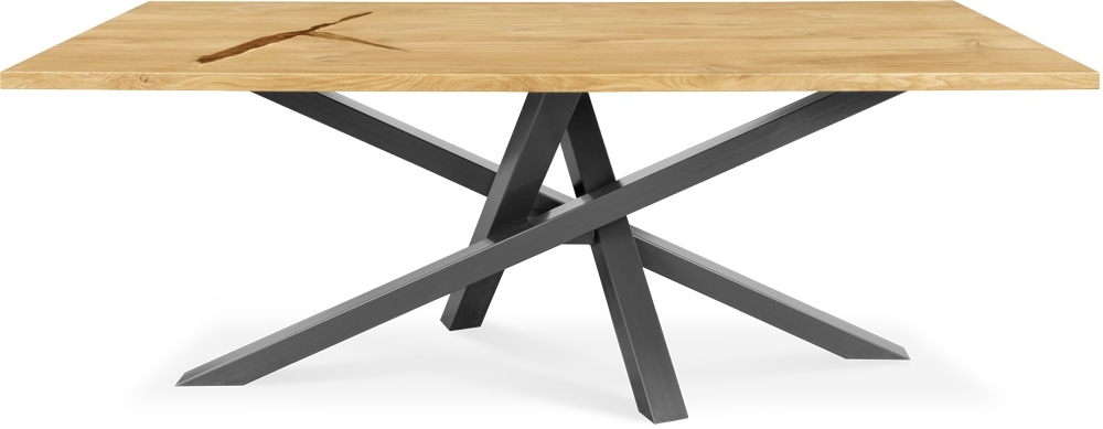 Clemence Richard Palermo Solid Oak Dining Table - 735