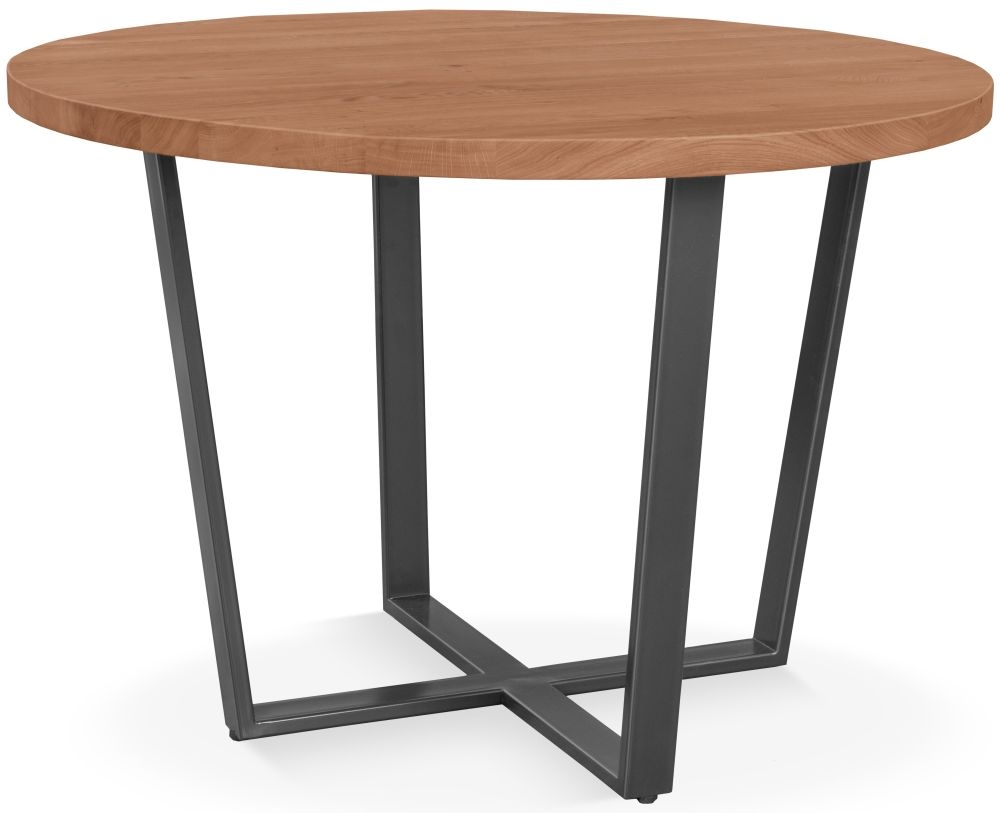 Clemence Richard Palermo Solid Walnut Round Dining Table