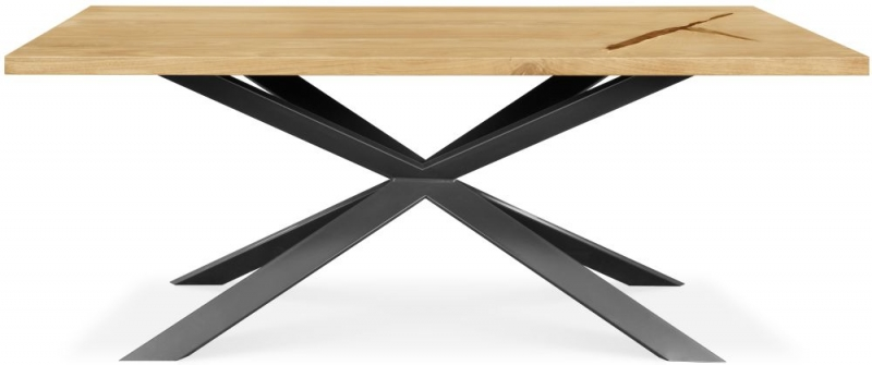 Clemence Richard Palermo Solid Oak Extending Dining Table