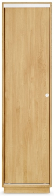 Clemence Richard Portofino Oak 1 Door Wardrobe