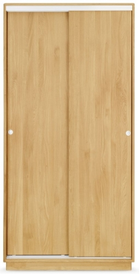 Clemence Richard Portofino Oak 2 Door Wardrobe