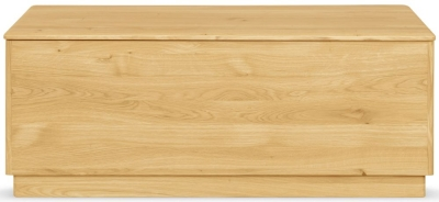Clemence Richard Portofino Oak Blanket Box