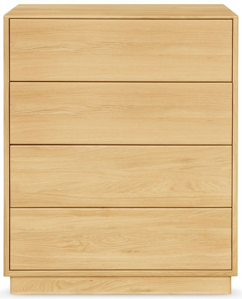 Clemence Richard Portofino Oak 4 Drawer Chest